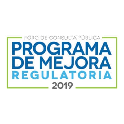 Programas de Mejora Regulatoria 2019